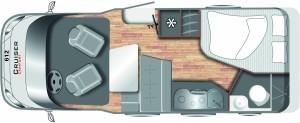 Cruiser Comfort 612